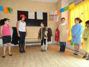 théâtre, expression, enfants, ateliers, vacances