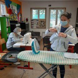 Action citoyenne : confection de masques pendant la crise sanitaire 3